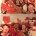Fun at Presidents Welcome Reception Celebrating Canada 150!
